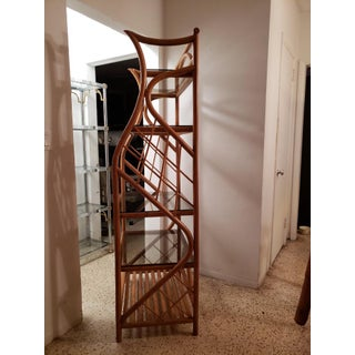 1950s Boho Chic Bamboo Etagere Preview