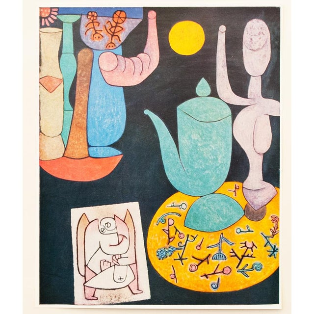 Blue 1958 Still Life Lithograph by Paul Klee For Sale - Image 8 of 8
