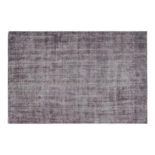 Vintage Gray Stonewashed Rug - 6′5″ × 10′ For Sale