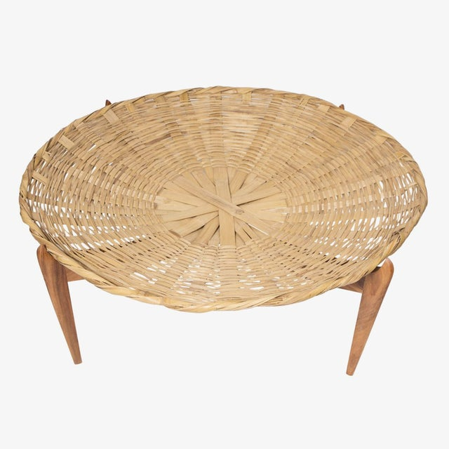 2000 - 2009 Solaria Mesa Canasta/ Basket Table Designed by Gabriela Valenzuela-Hirsch For Sale - Image 5 of 6