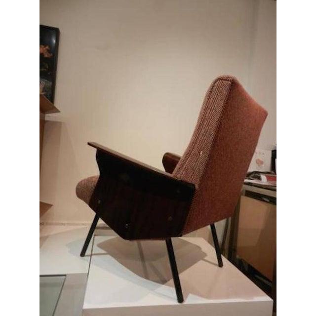 Mid-Century Modern Mid-Century Osvaldo Borsani Model D72 Club Chair For Sale - Image 3 of 10