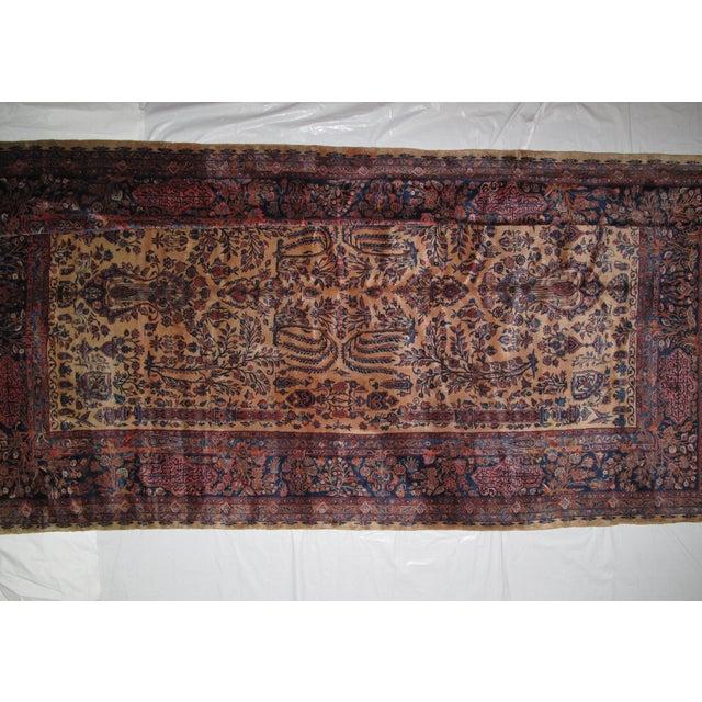 "Textile Leon Banilivi Manchester Kashan - 9' X 14'8"" For Sale - Image 7 of 11"