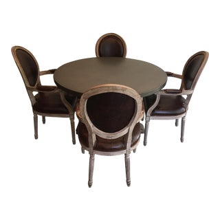 Restoration Hardware Dining Set For Sale
