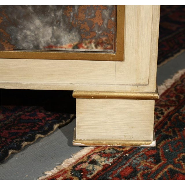 Mid-Century Marble Top Nightstands - A Pair For Sale - Image 4 of 4