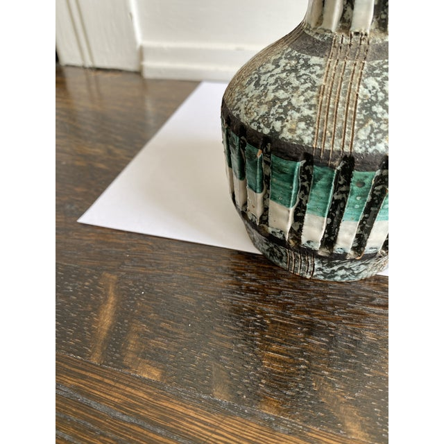 Mid 20th Century Mid 20th Century Speckled Italian Vase For Sale - Image 5 of 6