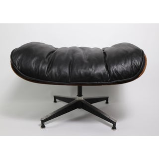 Iconic Eames Lounge Chair and Ottoman in Rosewood Preview