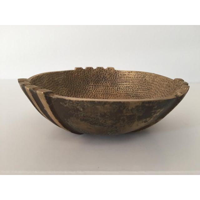 1960s Vintage Maurice Ascalon Bronze Bowl For Sale - Image 4 of 4