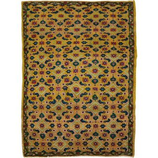 "Vintage Persian Mahal Rug – Size: 2' 8"" X 3' 9"" For Sale"