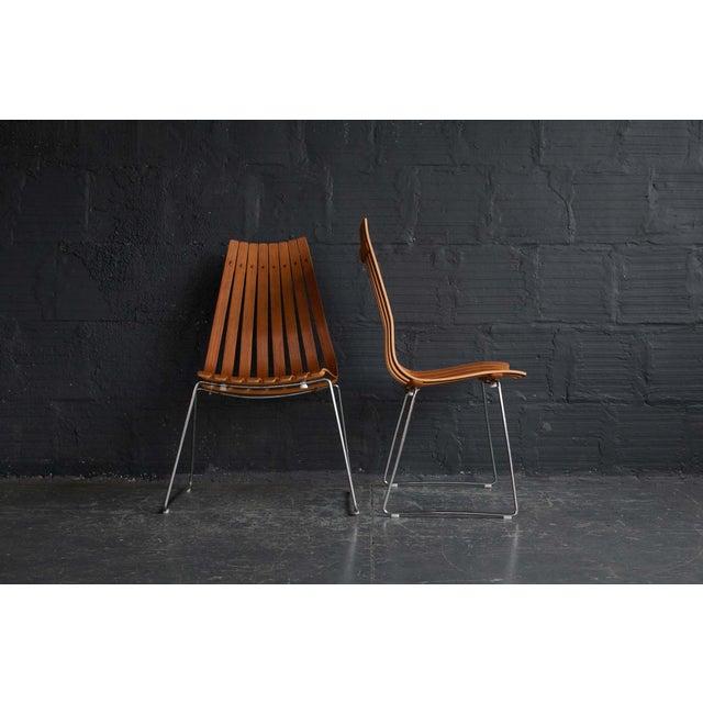 Hans Brattrud Scandia Chairs - Pair - Image 2 of 9