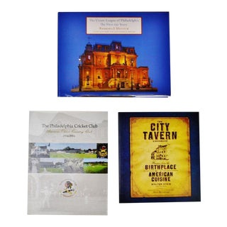 Collection of 3 Philadelphia History Coffee Table Books For Sale