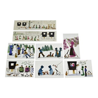 Vintage Diane Graebner Limited Edition Signed Amish Prints - Set of 8 For Sale