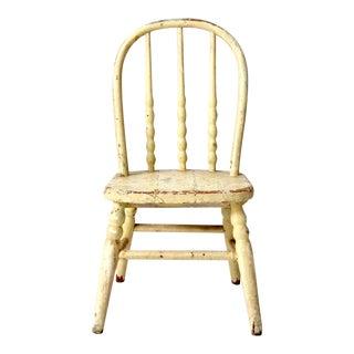 Vintage Children's Farmhouse Chair For Sale