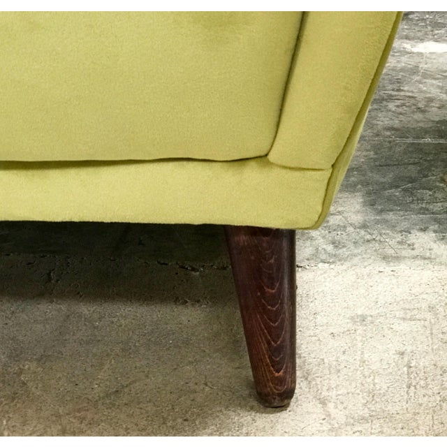 Green Italian Absolutely Fabulous Armchairs by ISA For Sale - Image 8 of 10