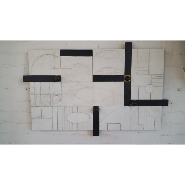 Abstract Modern Frieze Three-Dimensional Wall Art Paul Marra For Sale - Image 3 of 9
