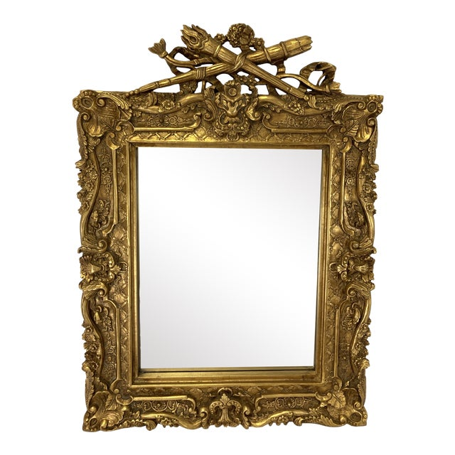 18th Century Style Gilt Mirror For Sale
