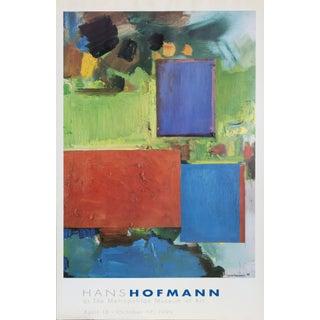 """Rhapsody"" Exhibition Poster by Hans Hofmann, 1999 For Sale"
