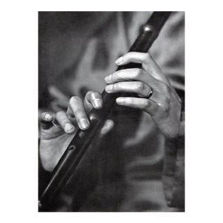 """1937 Lotte Meitner-Graf """"Hands of a Chinese Musician"""" Photogravure"""