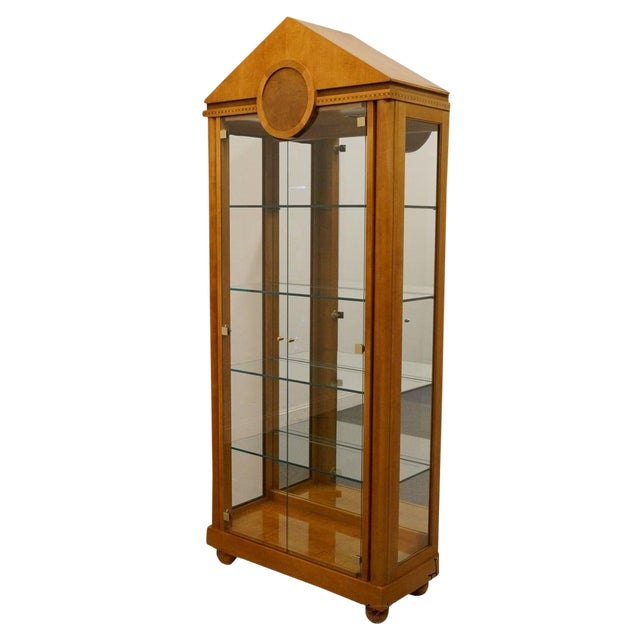 Hickory White Genesis Collection Curio Cabinet For Sale