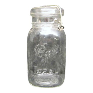Ball Ideal Glass Jars - Set of 7 For Sale