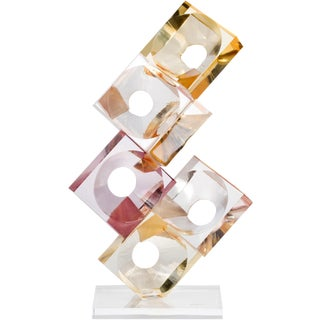 Resin and Lucite Sculpture by Eric Bauer For Sale