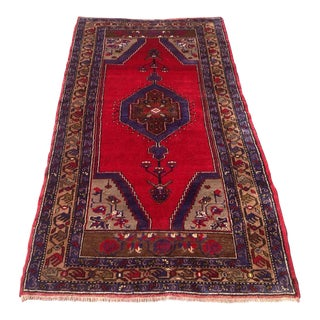 Vintage Anatolian Rug - 3′9″ × 7′1″ For Sale