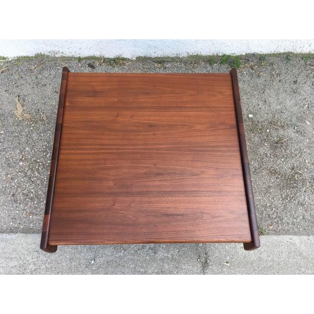 Mid-Century Modern 1970s Mid-Century Modern John Keal for Brown Saltman Walnut Coffee Table For Sale - Image 3 of 10