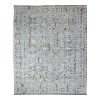 """Contemporary Hand-Knotted Area Rug 8' 2"""" x 10' 0"""" For Sale"""