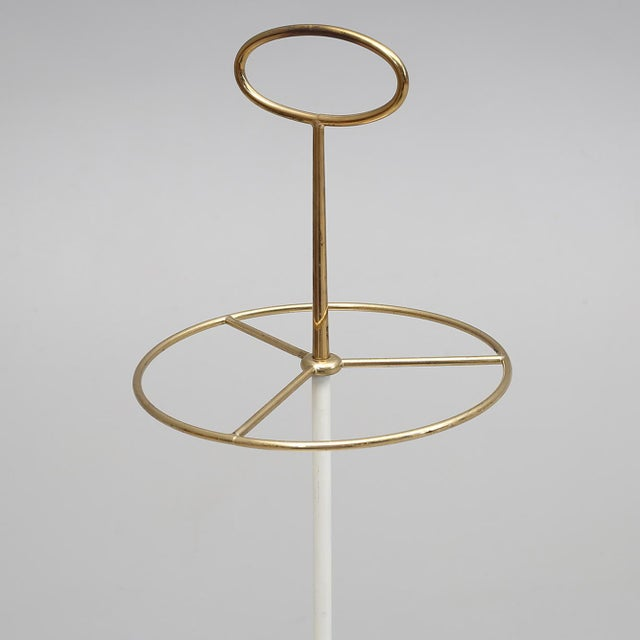 7a4edc4e6fff Excellent Midcentury Brass Umbrella Stand by Gunnar Ander for Ystad ...