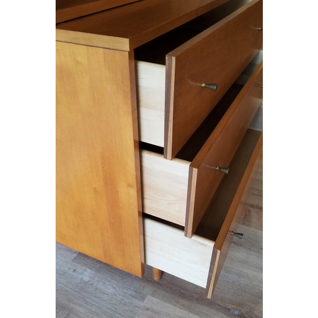 Mid 20th Century Mid-Century Modern Paul McCobb for Planner Group Display Bookcase With Drawers For Sale - Image 5 of 12
