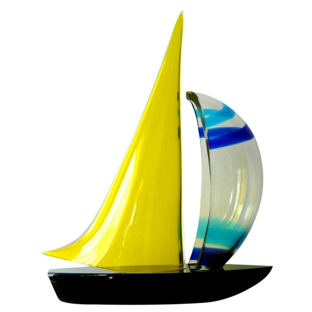 Sailboat Sculpture by Romano Dona' For Sale - Image 10 of 10