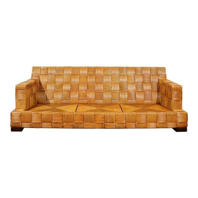 Stunning Block Island Collection Sofa by John Hutton for Donghia, circa 1995 For Sale - Image 11 of 11