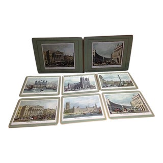 Vintage Pimpernel Placemats of London - Set of 8