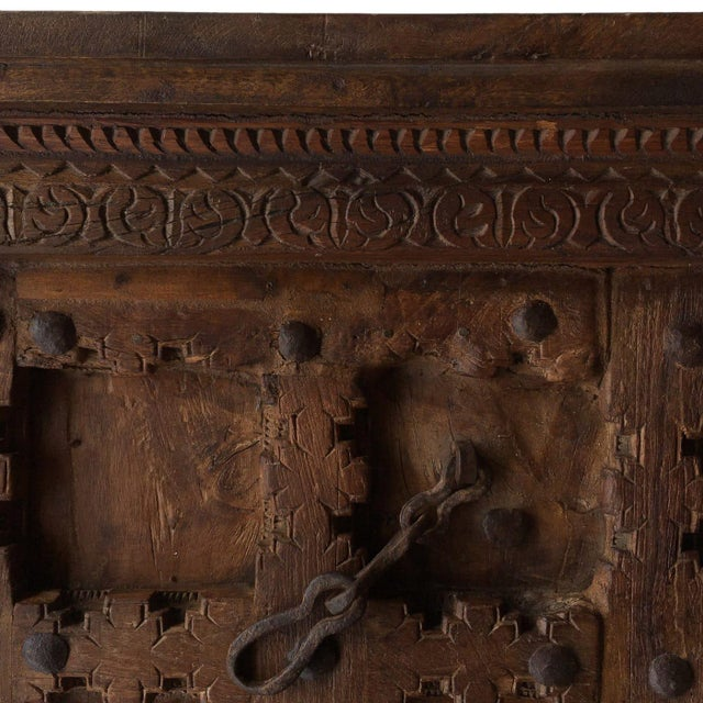 Antique Ottoman Door Coffee Table For Sale - Image 6 of 8