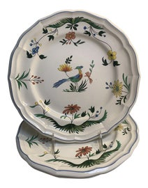 Image of Folk Art Decorative Plates
