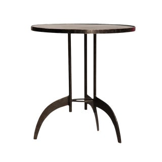 Industrial Modern Side Table For Sale