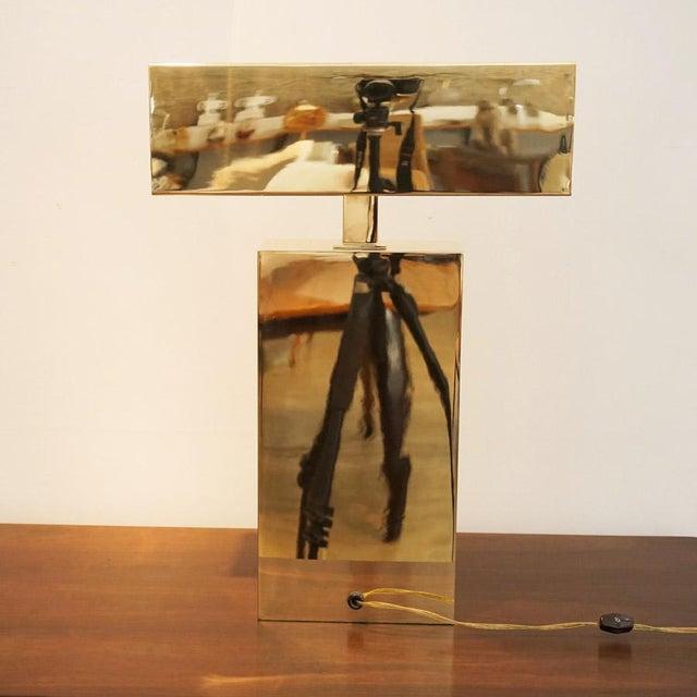 1970s Karl Springer Desk Lamp For Sale In Los Angeles - Image 6 of 8