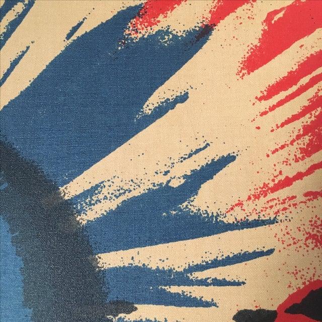Original Tom Tru Vintage Poppy Sreen Print For Sale - Image 9 of 9