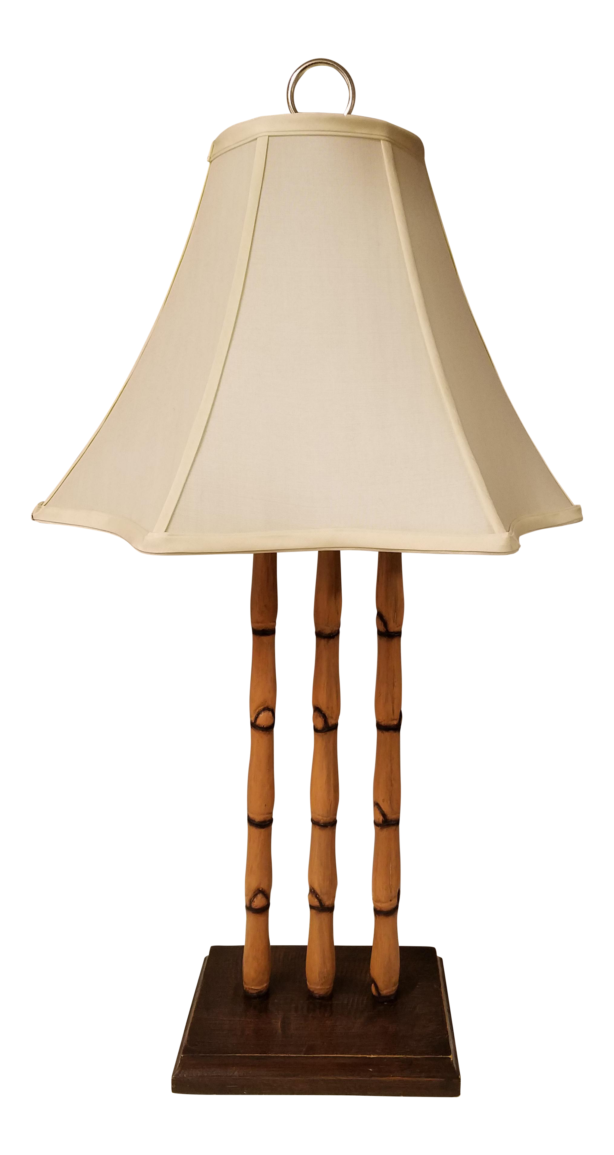 Palecek Vintage Faux Bamboo Table Lamp Chairish