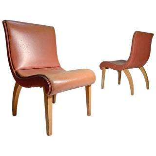 Pair of 1940s Lounge or Side Chairs Attributed to Gilbert Rohde For Sale