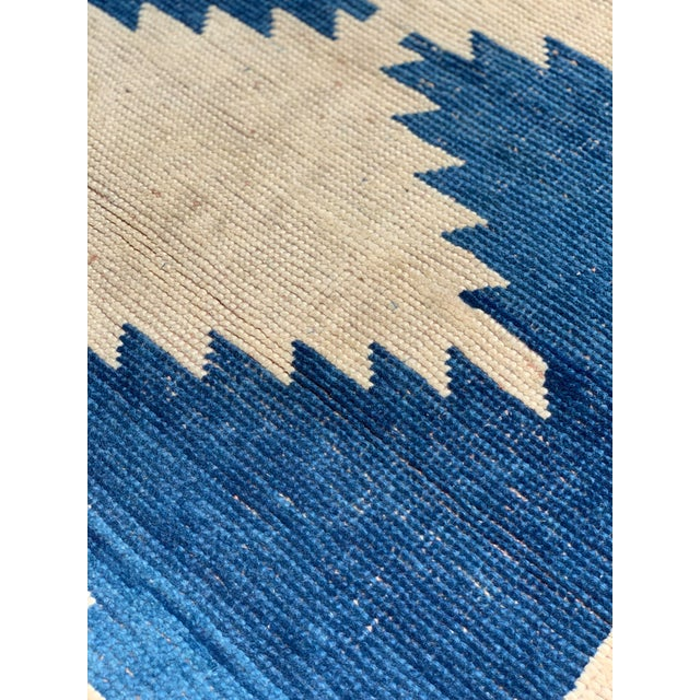 1950's Vintage Persian Gabbeh Tribal Rug- 3′1″ × 5′9″ For Sale - Image 9 of 11