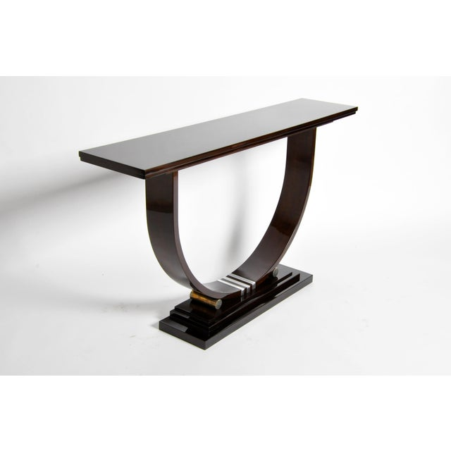 Mid-Century Style Side Console For Sale In Chicago - Image 6 of 11