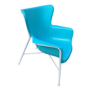 1960s Vintage Luther Conover Fiberglass Chair For Sale