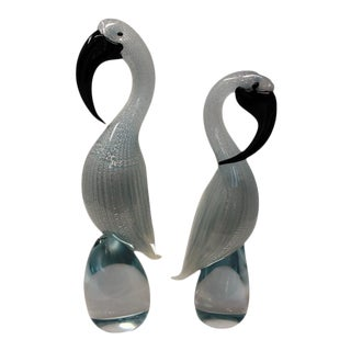 Formia Murano - Exotic Birds by Formia of Murano For Sale