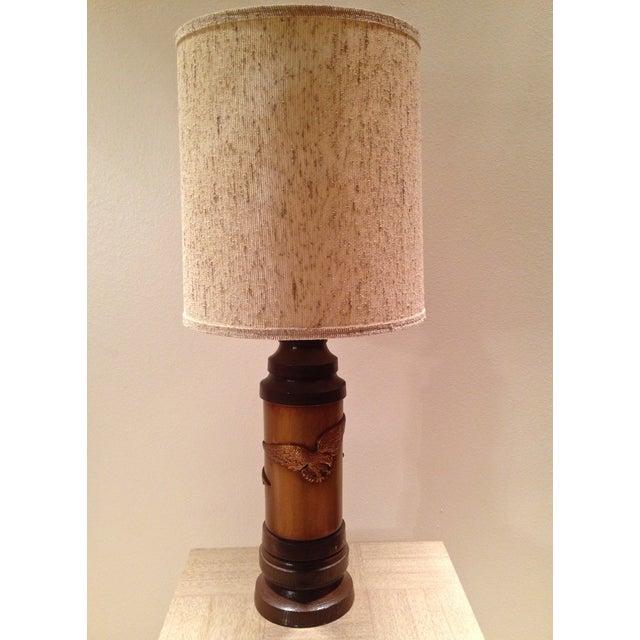 1970s Ceramic Eagle Table Lamp - Image 2 of 8