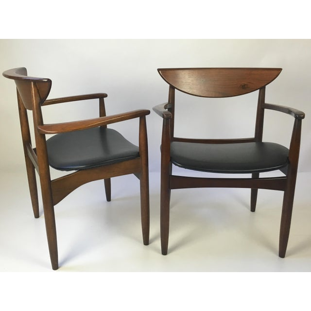 Lane Perception Modernist Armchairs - A Pair For Sale In Buffalo - Image 6 of 9