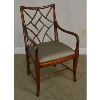 Theodore Alexander Mahogany Chinese Whispers George III Chippendale Armchair Preview