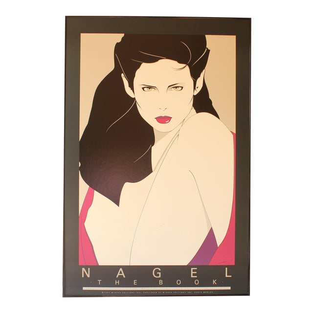 Patrick Nagel Lithograph Print For Sale