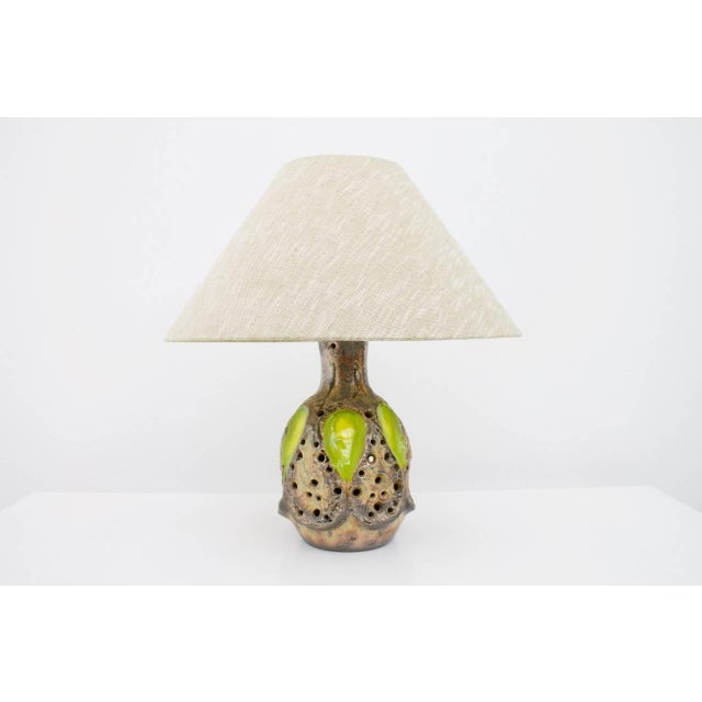 Italian Ceramic Table Lamp, 1960s For Sale - Image 9 of 9