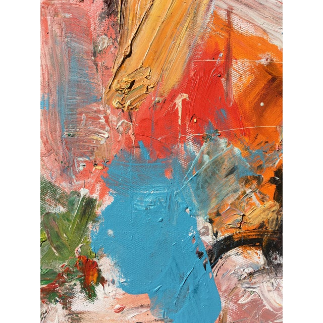A bright and brilliant work by emerging artist, Sean Kratzert. Rich with textures and color, a harmony is achieved amidst...