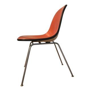 Vintage Herman Miller Fiberglass Upholstered Shell Chair